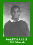 Daren Haris 8th Grade 1988