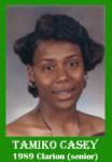 Tamiko Casey 1989 ECHS Clarion sr