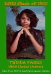 Twinda Parks 1980 ECHS Clarion sr
